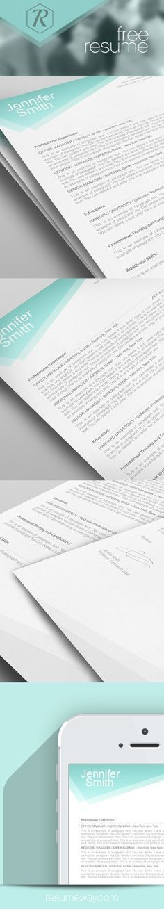 Professional resume templates for Microsoft Word. Features 1 and 2 ...