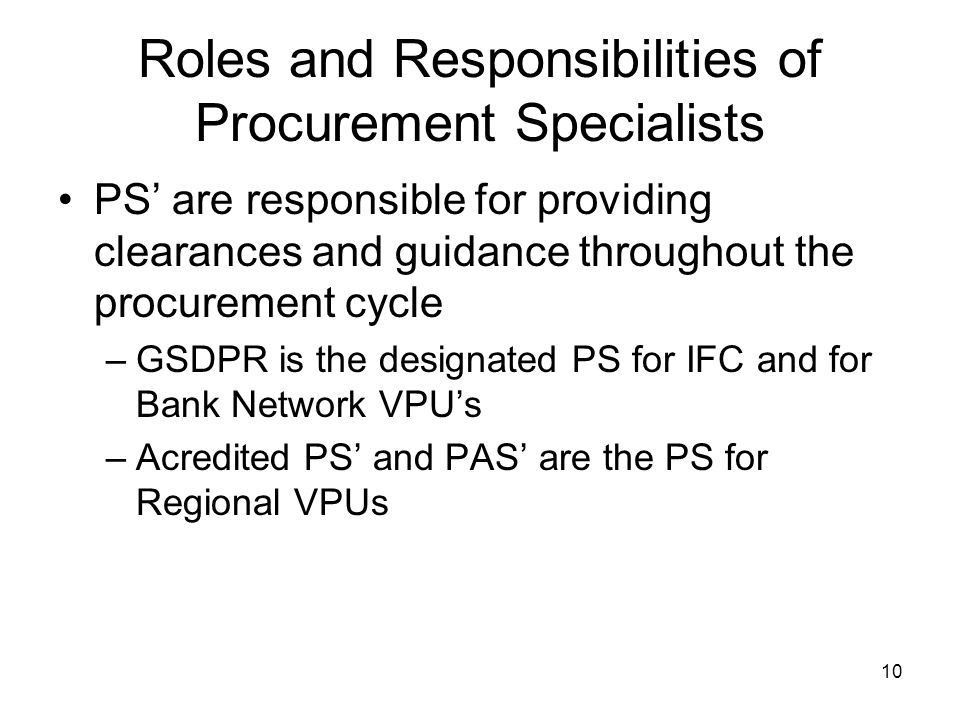 The New AMS for the Selection and Use of Consultants by IFC - ppt ...