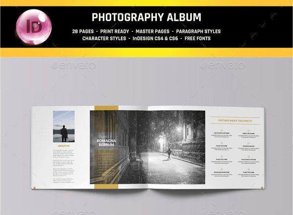 40 Photobook Album Photoshop and InDesign Templates | Wisset