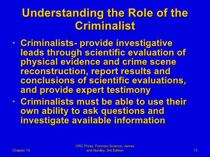 13 Forensic Science Powerpoint Chapter 13 The Forensic Laborat