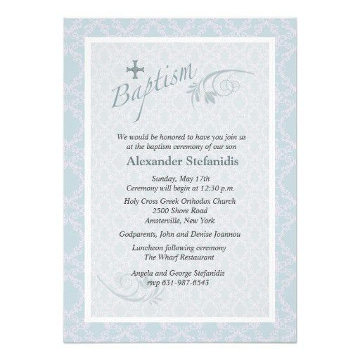 Free Downloadable Invitation Templates Baptism