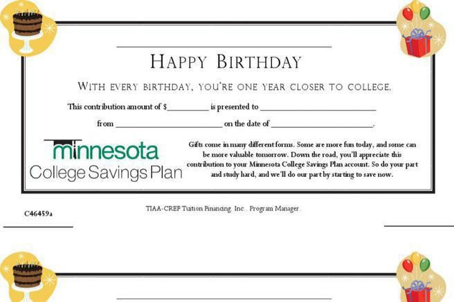 birthday gift certificate template word