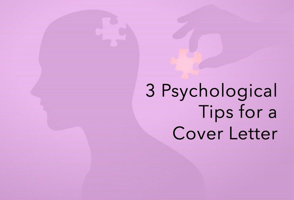 3 Psychological Tips and Tricks for Selling Yourself in your Cover ...