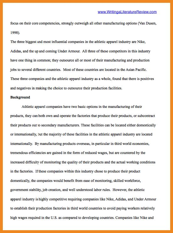 literature review examples   art resume examples