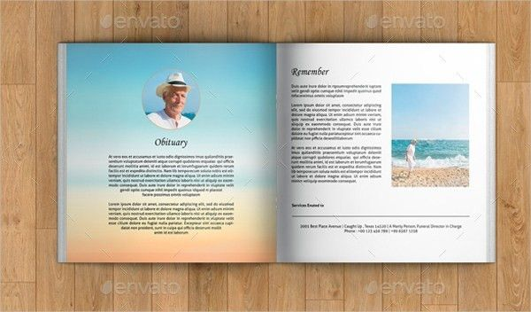 Booklet Template | ebook