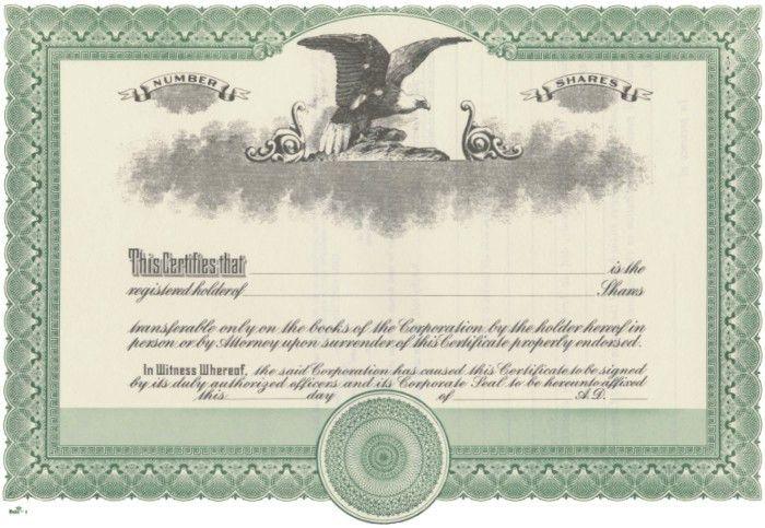 Duke 2 Stock Certificates