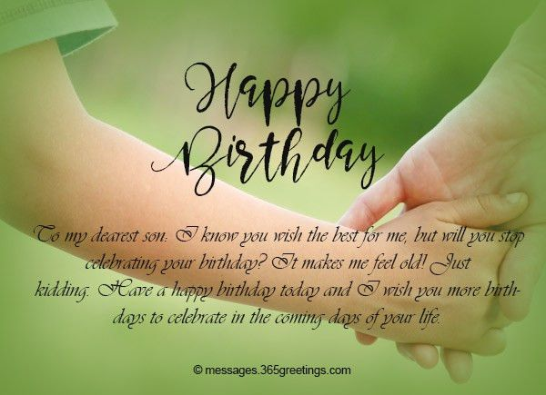 Happy Birthday Son, Birthday Wishes for Son - 365greetings.com