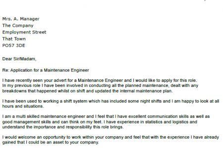 application letter for civil engineering technician disney sample ...