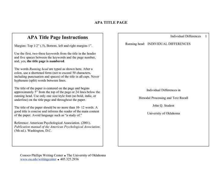 Best 25+ Title page apa ideas on Pinterest | Tree essay, Apa title ...