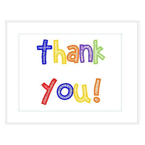 Design and Print Your Own Thank You Cards With These MS Publisher ...