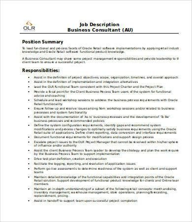 retail consultant job description sales associate job description