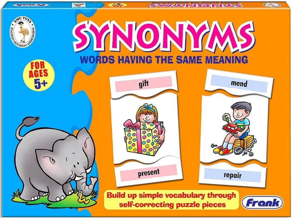 SYNONYMS WORDS - SAME MEANING [FRA10379] : Jedko Games