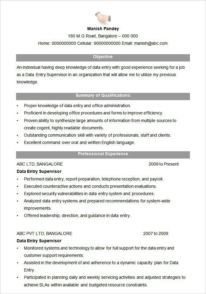Stylish Ideas Resume Format 9 Download Resume Format Write The ...