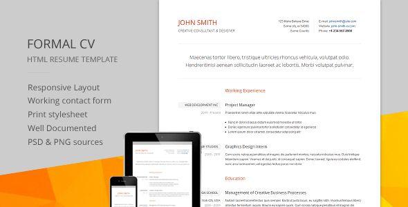 55+ Best Online Resume Templates - Tutorial Zone