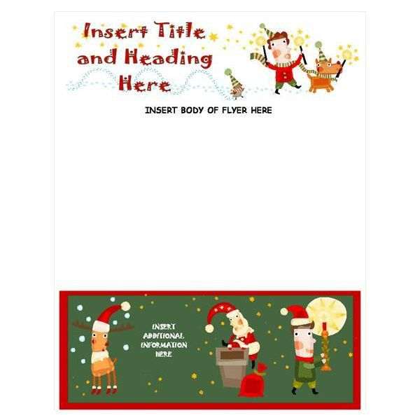 word holiday templates free - Template