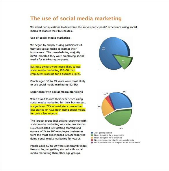 Marketing Report Templates - 7+ Free Sample, Example, Format ...