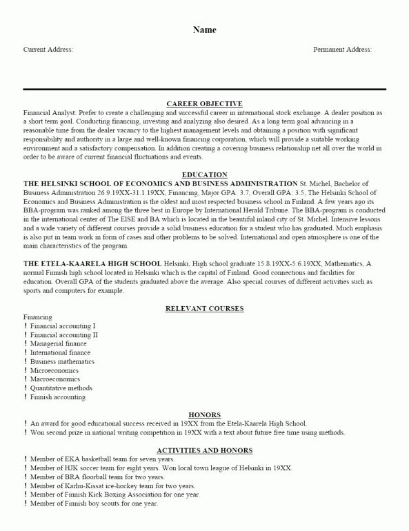 resume introduction example example smart design best resume