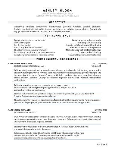 50 Free Microsoft Word Resume Templates for Download | Free resume ...