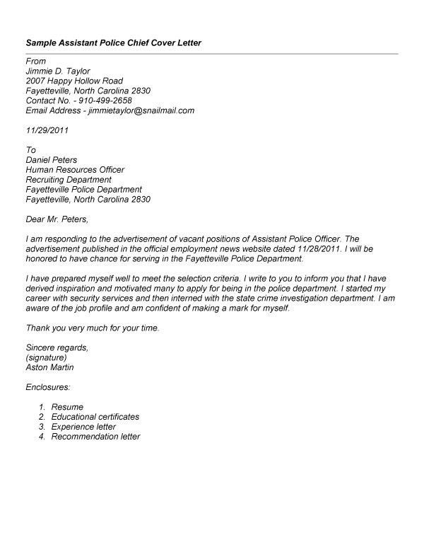cover letter examples law enforcement security cover letter for ...