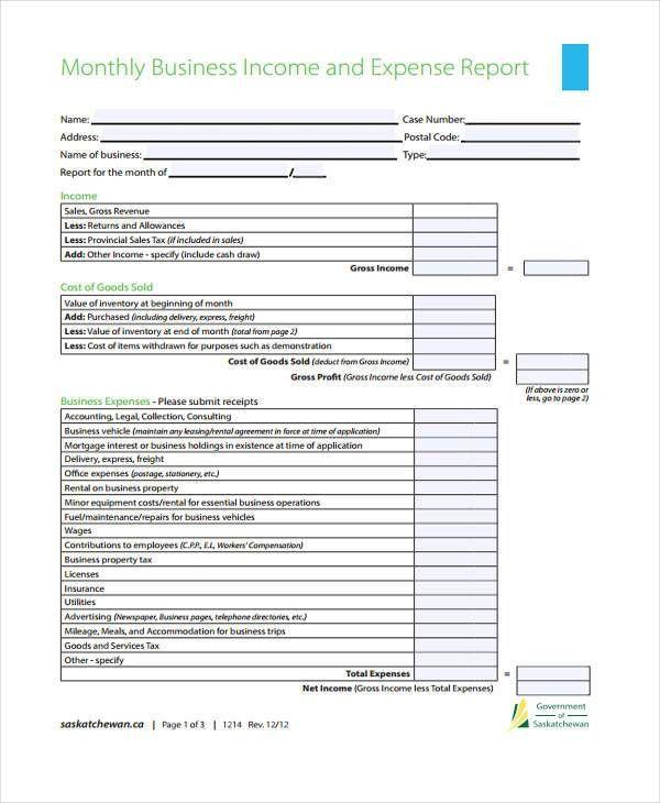 32+ Monthly Report Templates in PDF | Free & Premium Templates