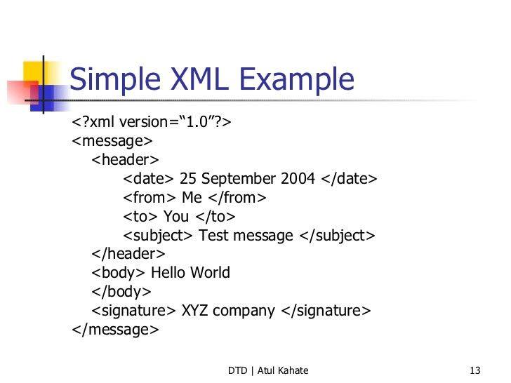 2 dtd - validating xml documents