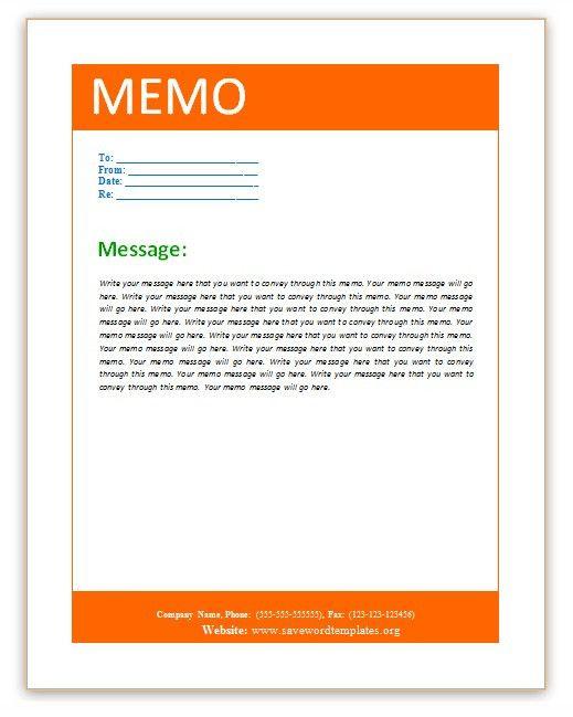10 Best Images of Memorandum Template Word - Microsoft Word Memo ...