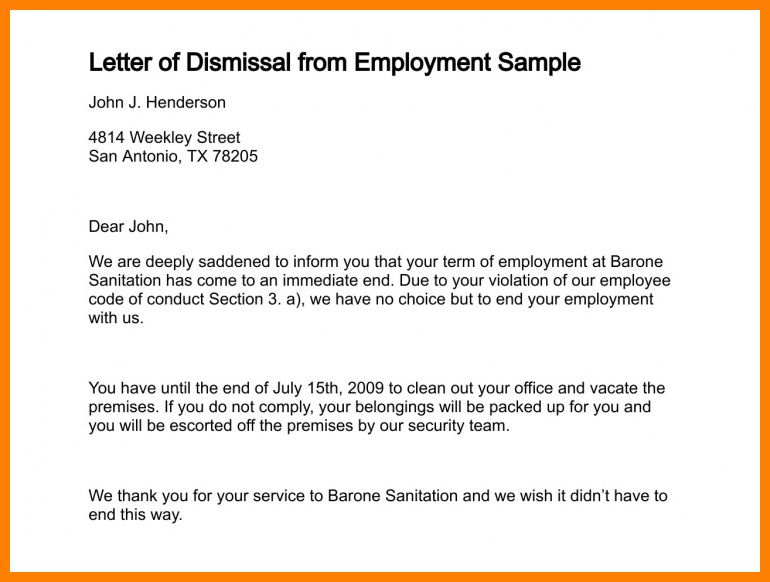 6+ letter of termination sample | obituary template