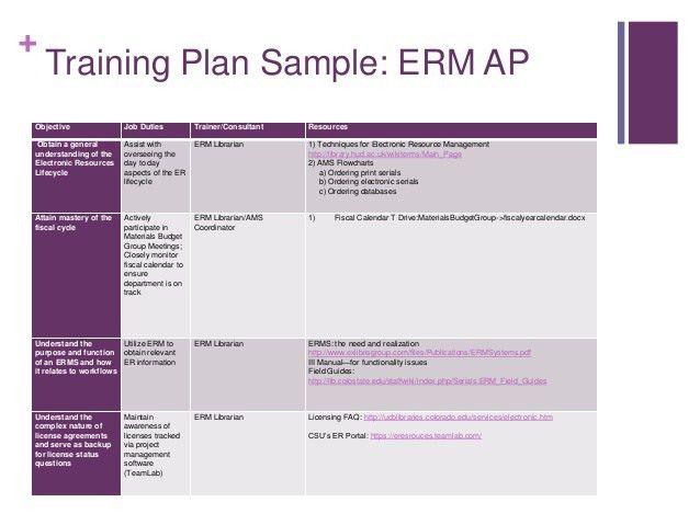 Employee Training Plan Template] Employee Training Schedule