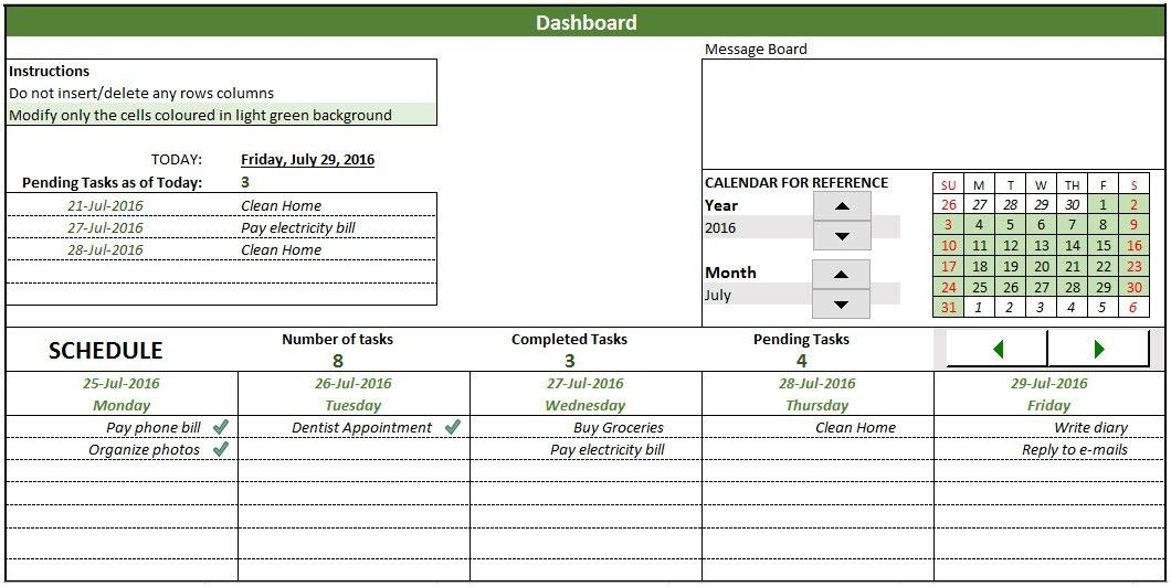 Free To-Do List template in Excel to create & manage tasks to-do