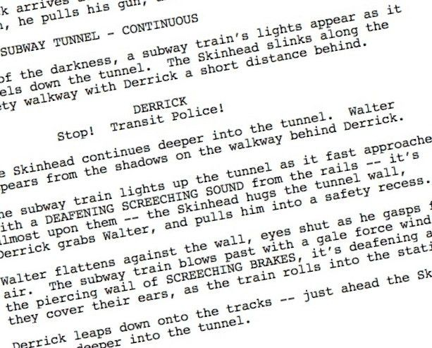 How important is screenplay format? | My Blank Page