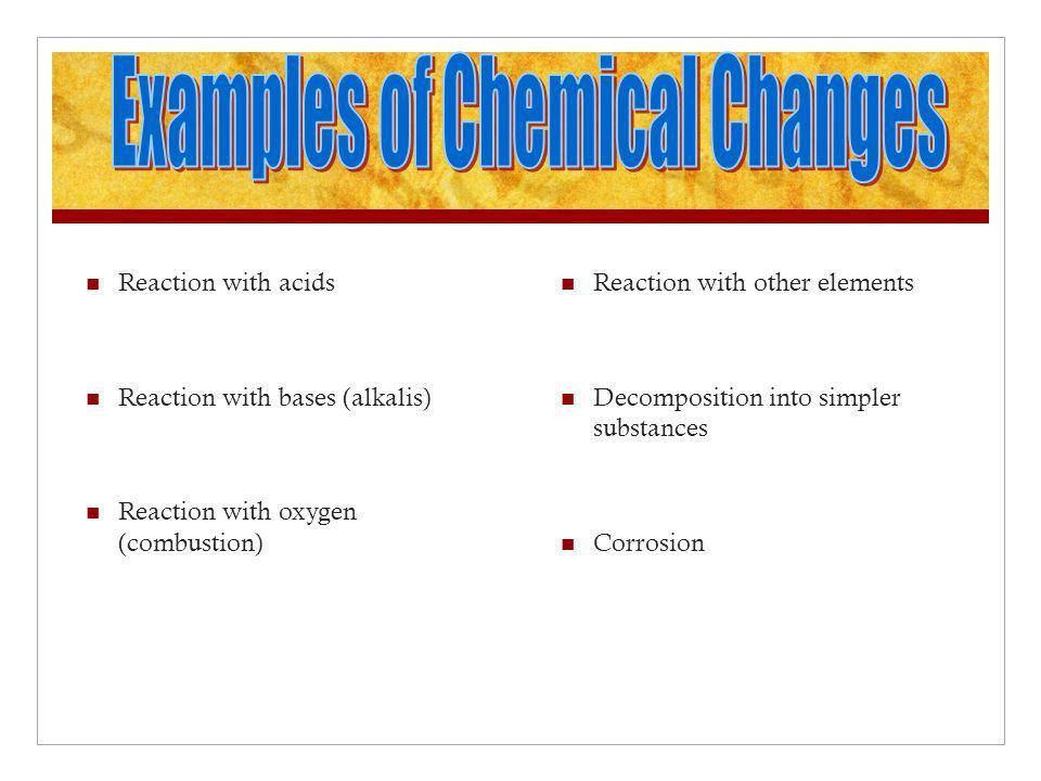 Matter Physical and Chemical Changes Pure Substances Mixtures ...