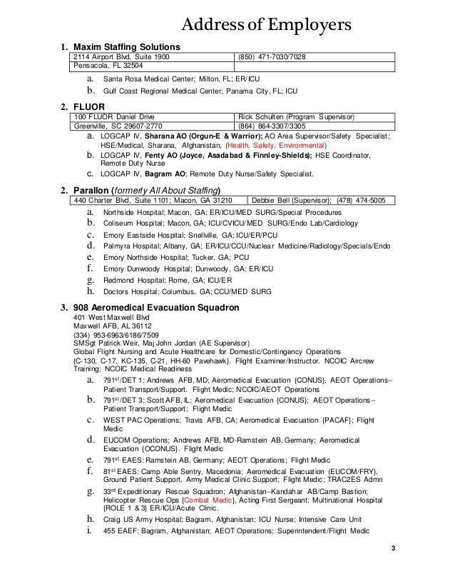 Tom's Nursing Resume (20 Mar 15)