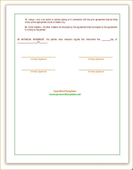 5+ franchise agreement template | Outline Templates