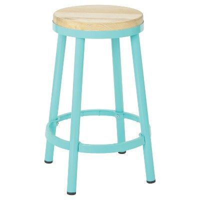 "Bristow 26"" Barstool - Mint - Osp Designs : Target"