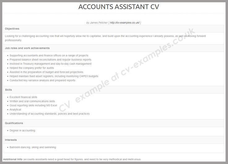 179 best CV examples images on Pinterest | Cv examples, Resume ...