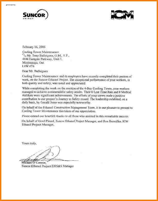 4+ simple letter of recommendation for work | quote templates