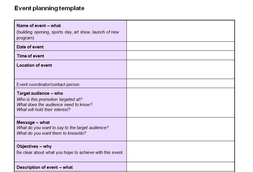 Event Planning Checklist Template Now Featured on Website Devoted ...