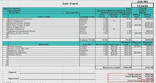 Download Construction Labor & Material Cost Estimator Template in ...