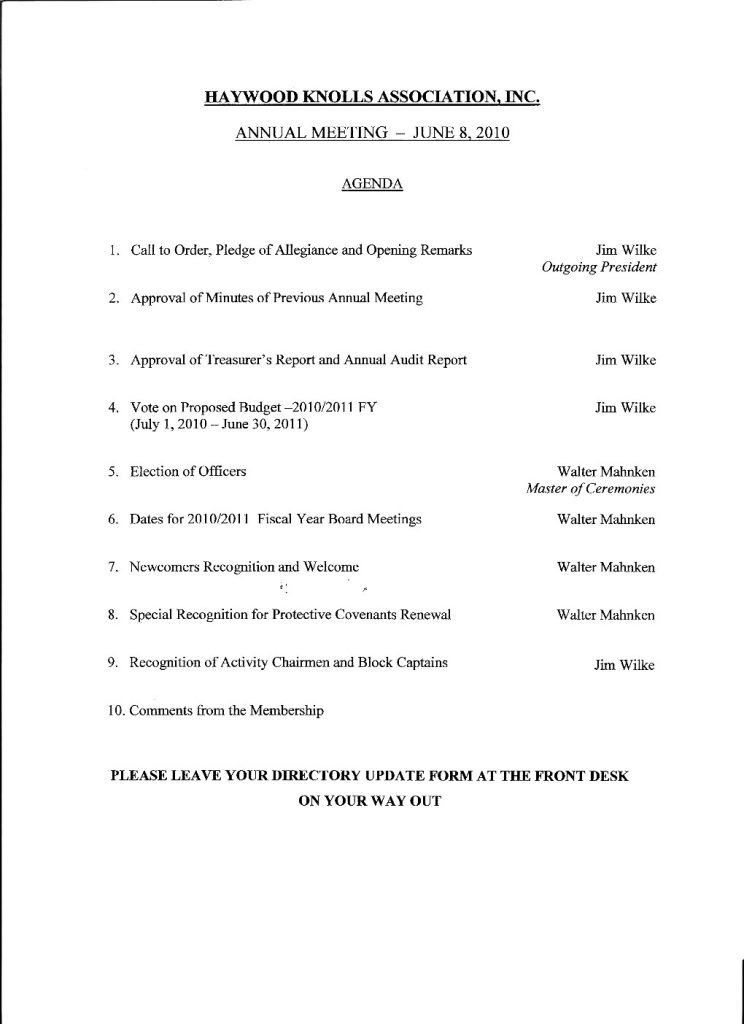 Sample Staff Meeting Agenda. 7+ Sample Agenda Template - Sales ...
