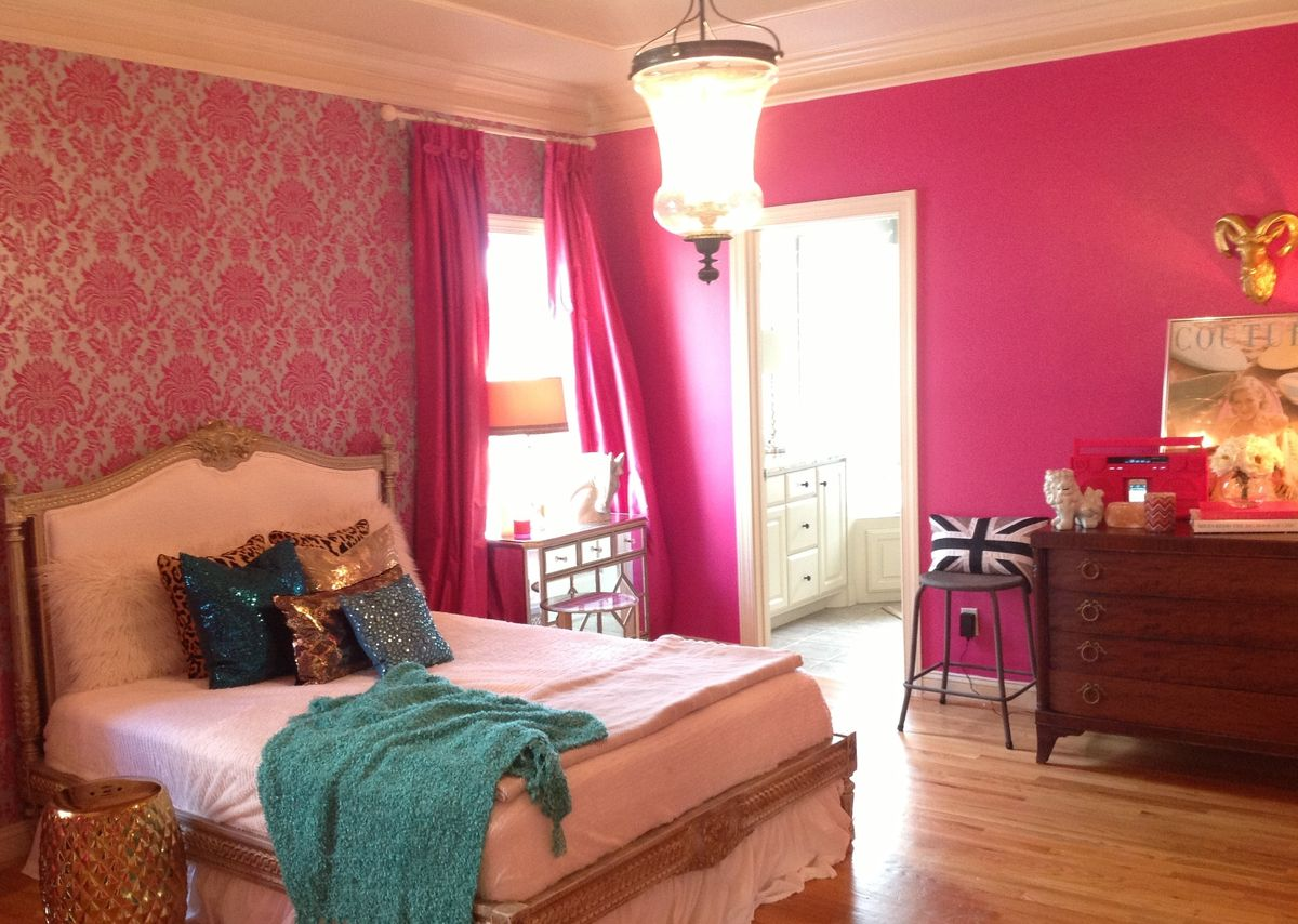 1000 Images About Pink Bedrooms For Grown Ups On Pinterest