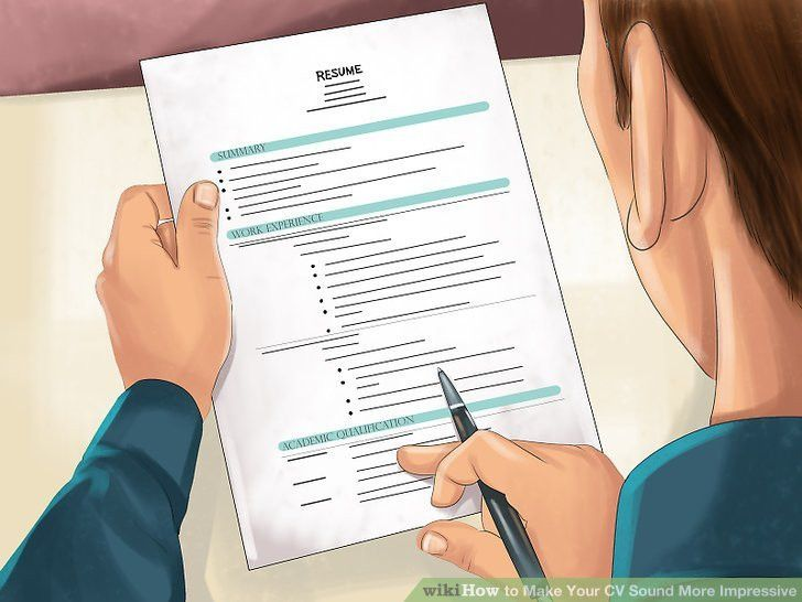 3 Ways to Make Your CV Sound More Impressive - wikiHow