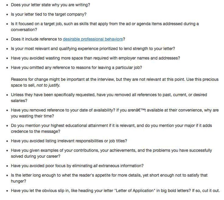 28+ [ What Should A Cover Letter Contain ] | What Should A ...