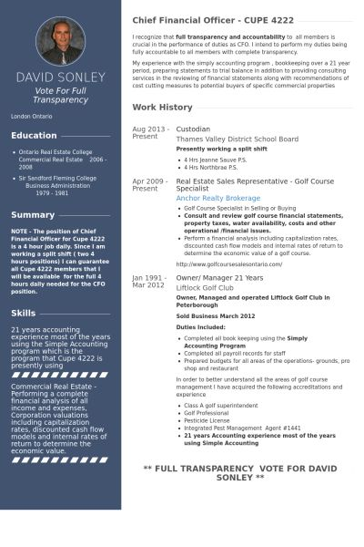 Sales Rep. Resume samples - VisualCV resume samples database