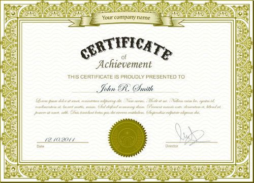 Best certificate photoshop design free vector download (2,895 Free ...