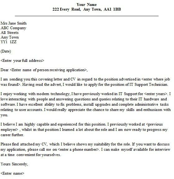 Pharmacy Technician Cover Letter Sample In 21 Mesmerizing Examples ...
