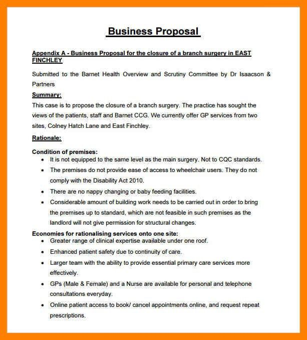 5+ free business proposal template | lab report format