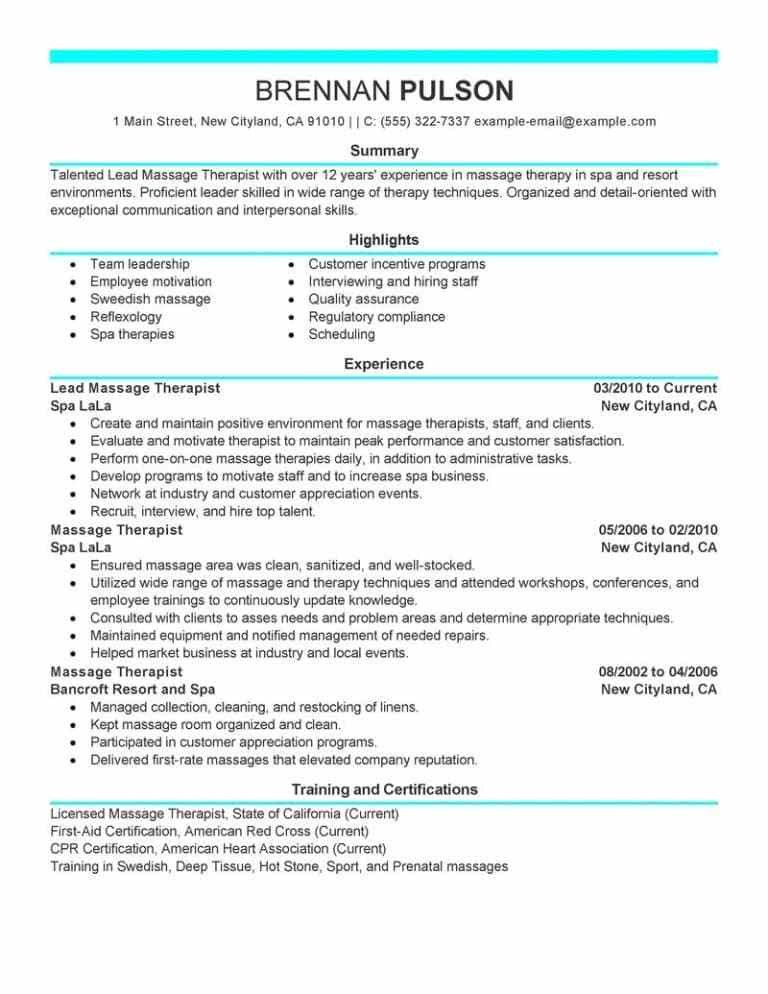 Respiratory Therapist Resume Examples. Respiratory Therapist ...