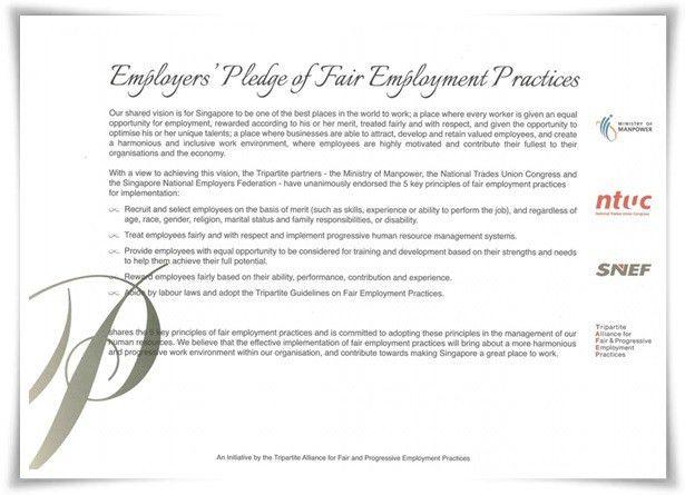 Pledge Certificate | Tripartite Alliance for Fair and Progressive ...