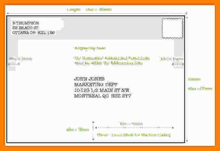 3+ canada address format   addressing letter