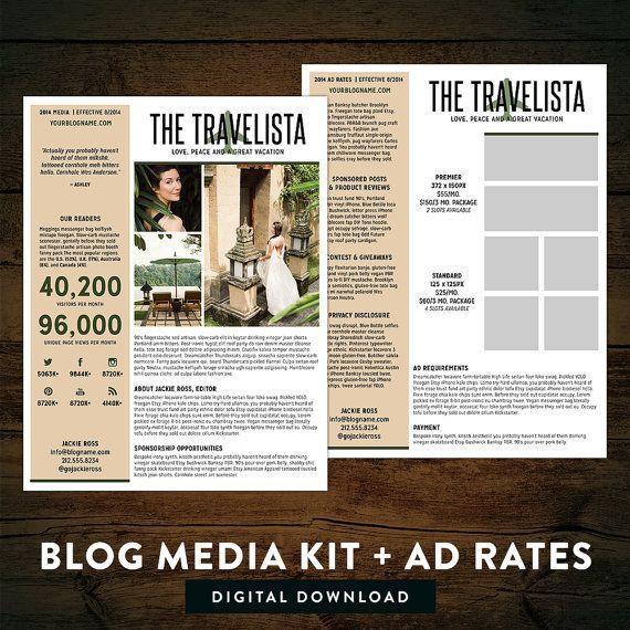 74 best Blogging Media Kit images on Pinterest   Blog tips, Social ...
